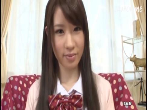 【XVIDEOS①】渡辺絵里奈 18歳 3ヶ月前まで生徒会長だったお嬢様が最速 AVデビュー!